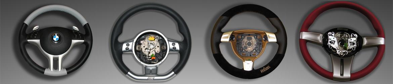 Lenkräder für div. Fahrzeugtypen